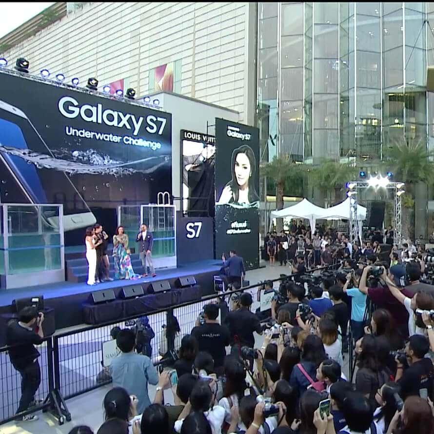 Thumb Mobile : Samsung UNDERWATER CHALLENGE